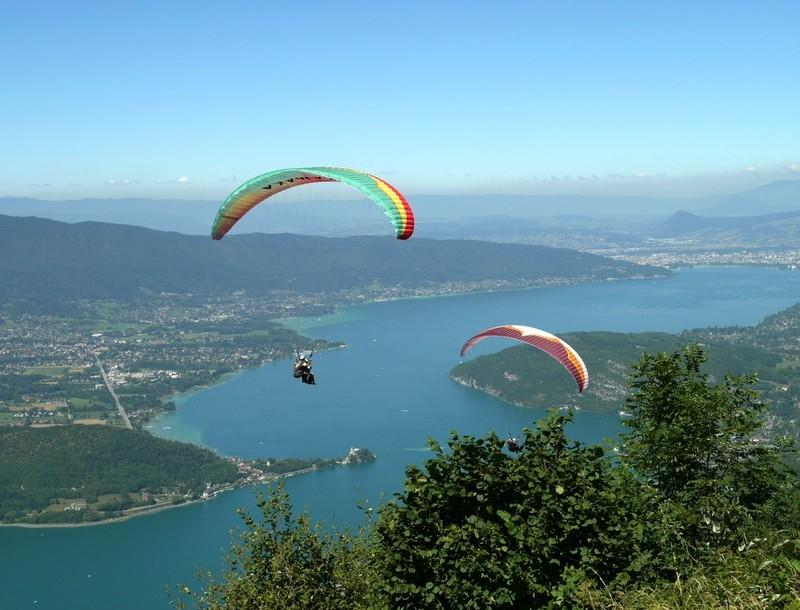 Annecy - Le lac du coté de Talloires  P0009010