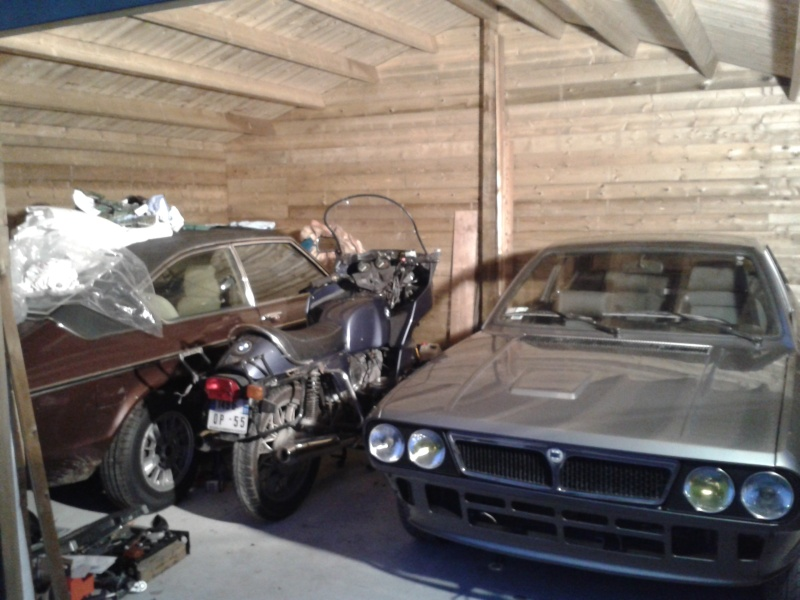 Remise en état et caférisation BMW R100 20150112