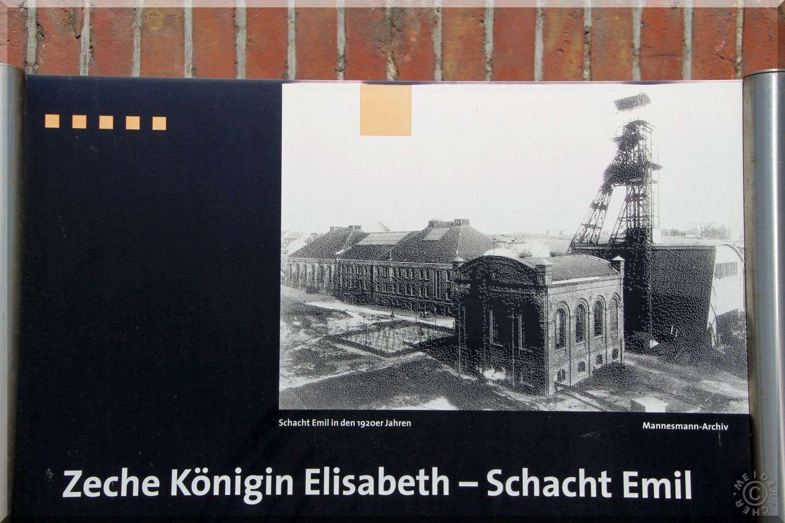 Zeche Königin Elisabeth, Schacht Emil Img_8510