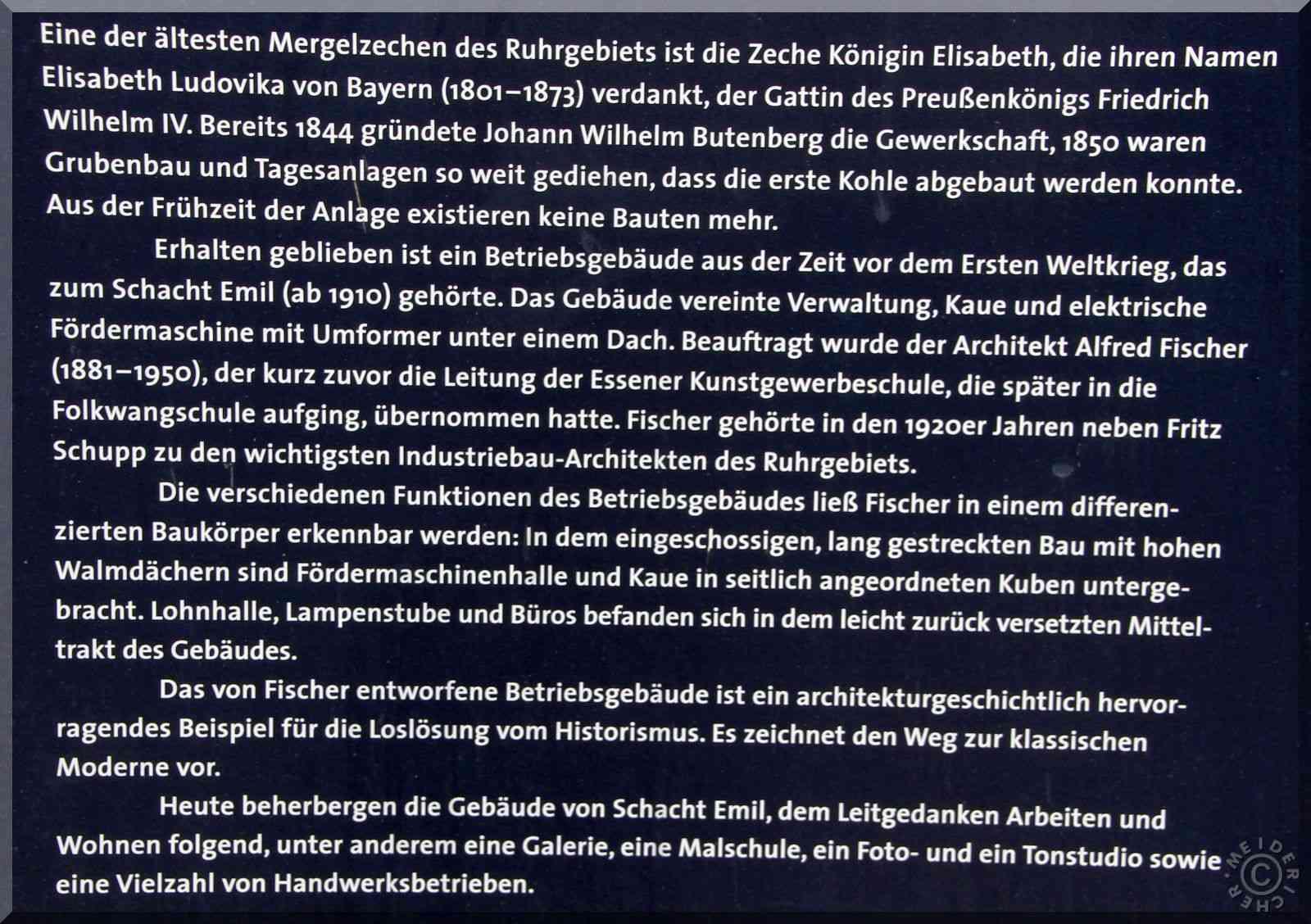 Zeche Königin Elisabeth, Schacht Emil Img_8511
