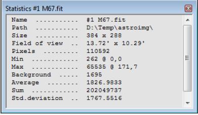 Test de AstroArt 1610