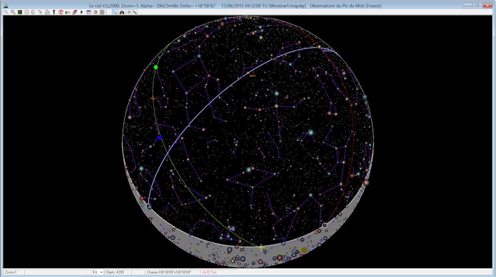 Test de PRISM V.8  Ciel10