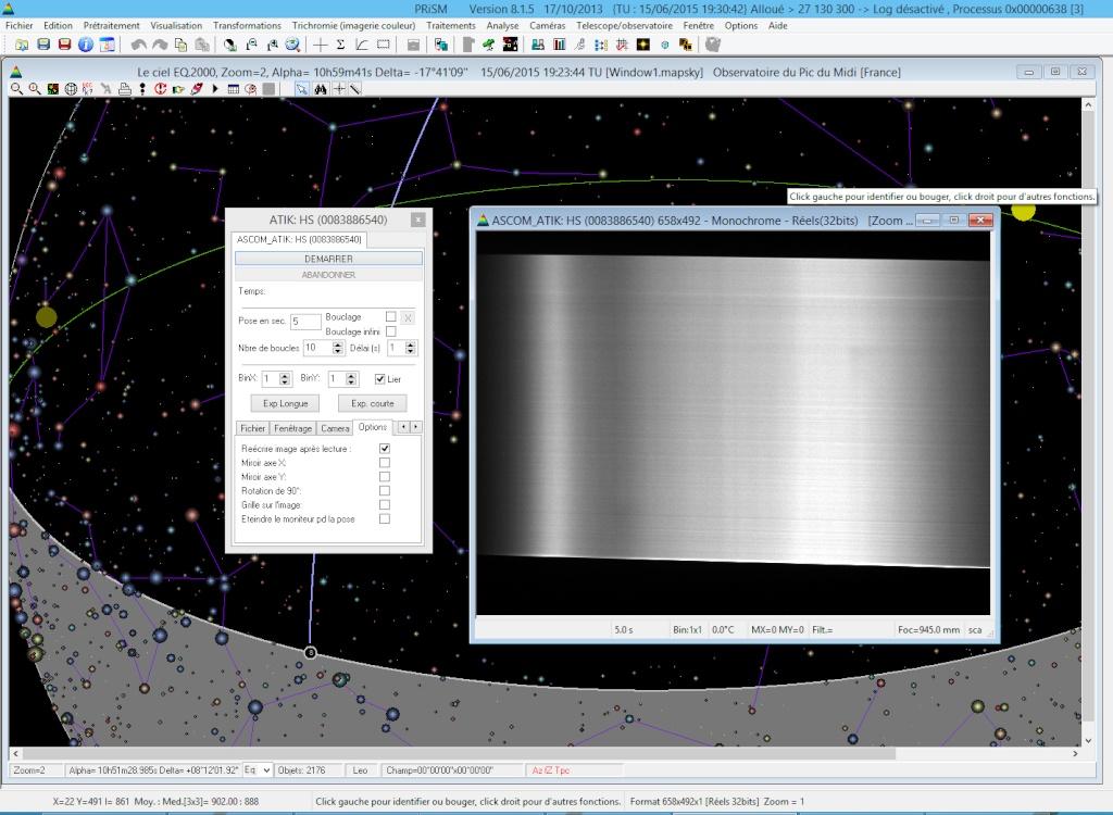 Test de PRISM V.8  Ecran10