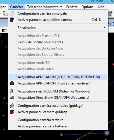 Test de PRISM V.8  Menu_c10