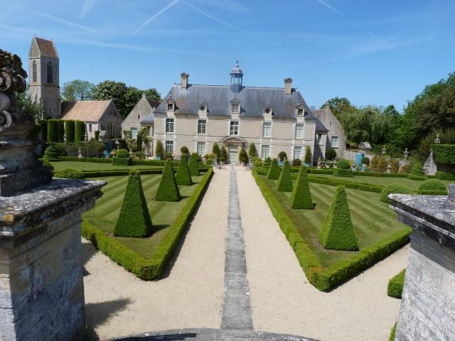 Jardin Château de Brecy P1140912