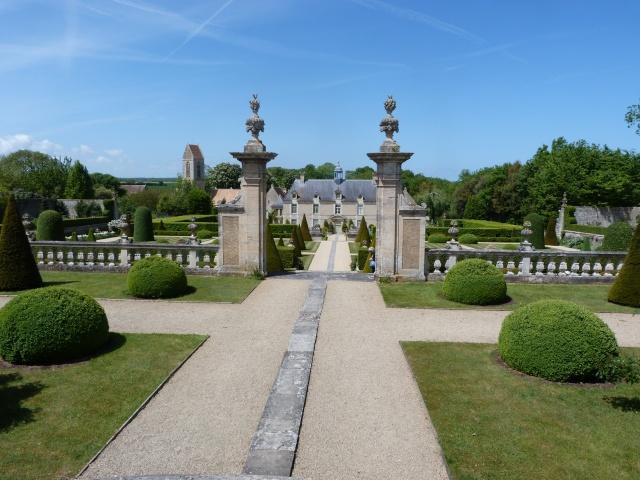 Jardin Château de Brecy P1140915
