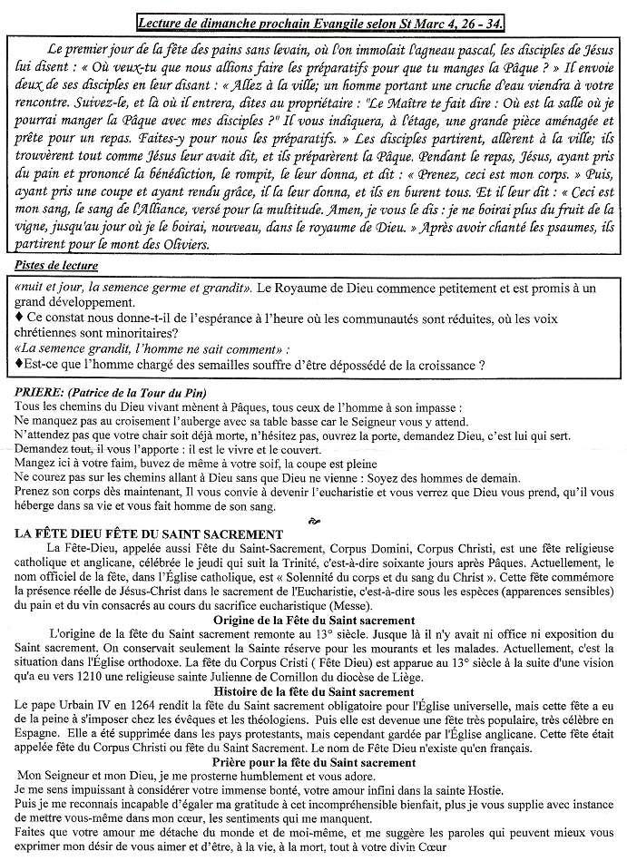 Trait d'union du 7 juin 2015 Tu150611