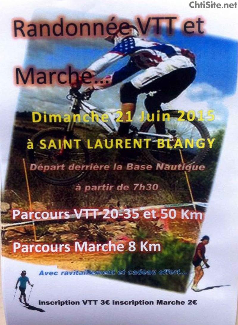 Randonnée VTT 2015 à Saint-Laurent-Blangy ( 62 ) Randon10