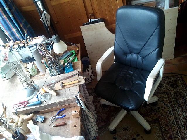 Mon fauteuil ......d'établi 2015-012