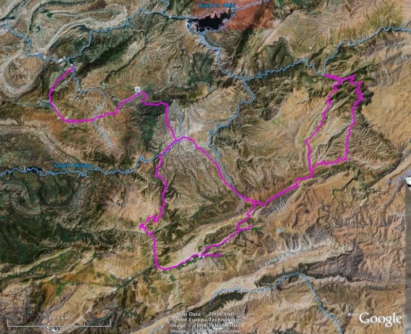 Affichage des tracés sur basecamp - afficher les tracés côte-côte 20080910