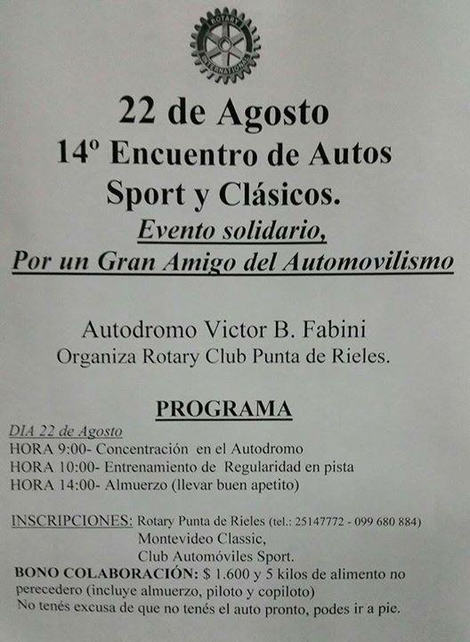 Track day autódromo Victor B. Fabini (El Pinar) Cuas10