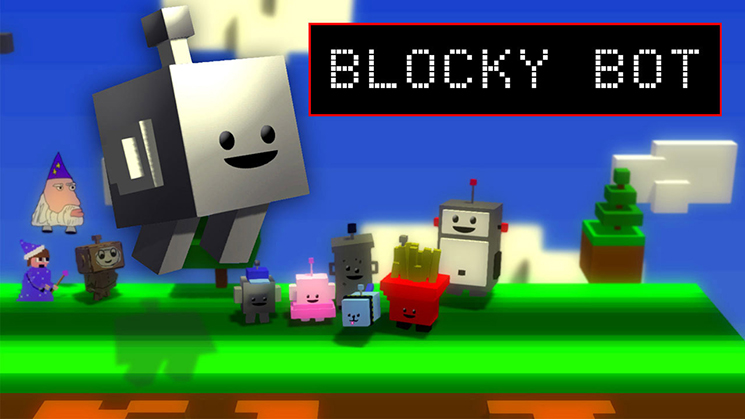 Review: Blocky Bot (Wii U eShop) Nrmqsr10