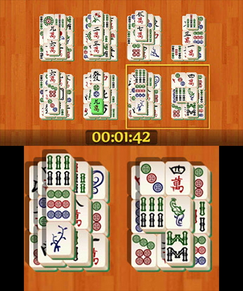 Review: Shanghai Mahjong (3DS eShop) X5efit10