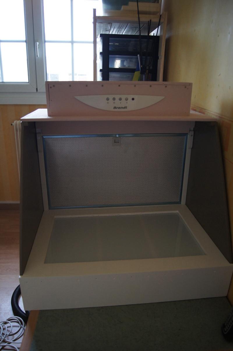 Fabriquer une cabine de peinture 12810