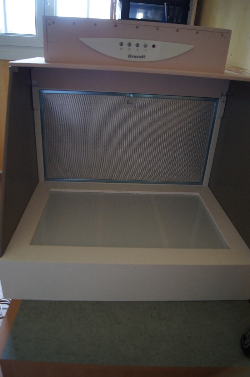 Fabriquer une cabine de peinture 12910