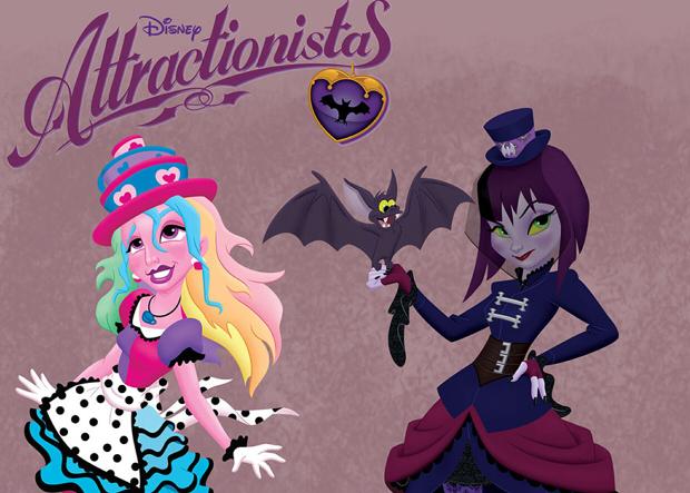 attractionistas - Poupées Disney Attractionistas 36204-10