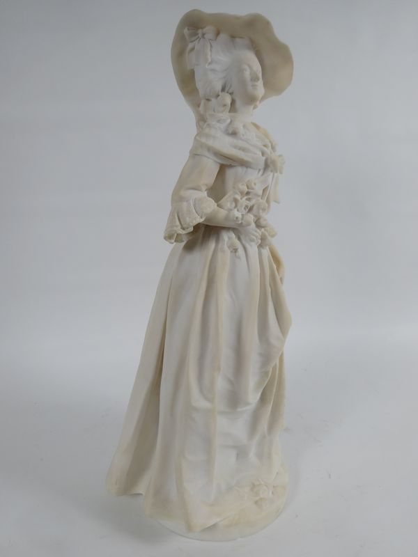 A vendre : statuette en marbre représentant la Reine Marie-Antoinette 14335013