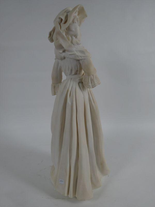 A vendre : statuette en marbre représentant la Reine Marie-Antoinette 14335016