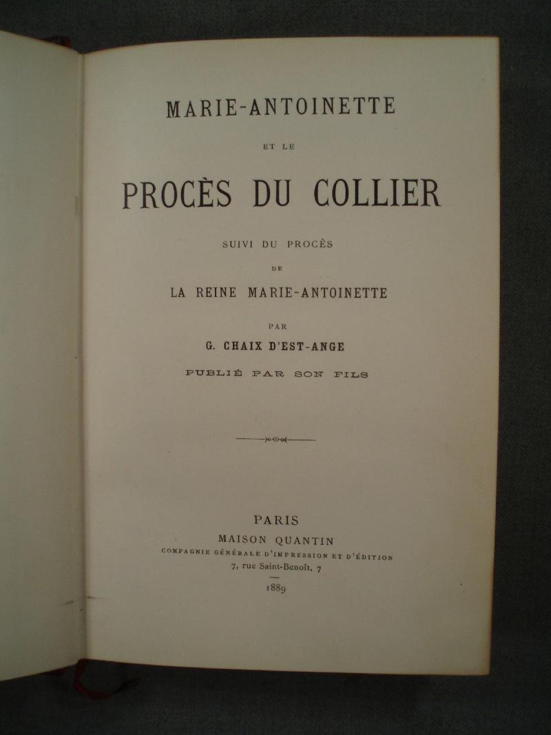 A vendre: livres sur Marie-Antoinette, ses proches et la Révolution - Page 3 _5719