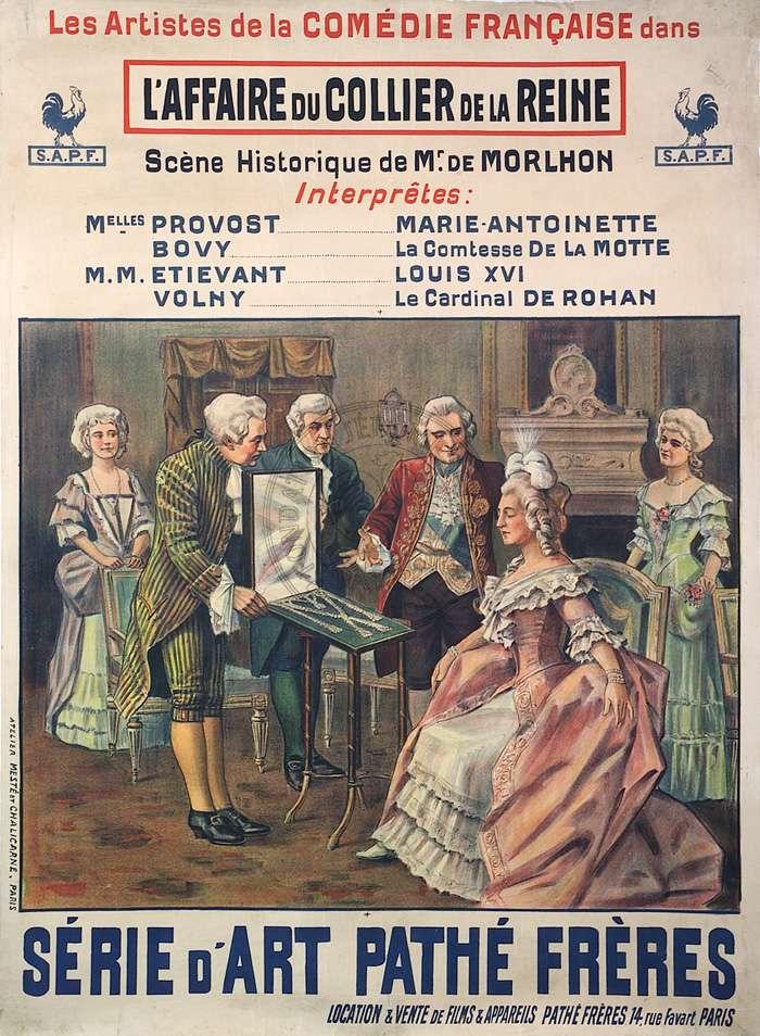 L'Affaire du Collier de la Reine, avec Jeanne Provost (Camille de Morlhon - 1912) Affair10