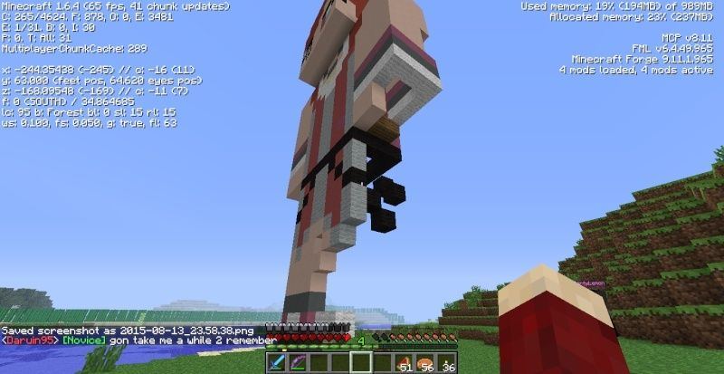 Statue of Skirata griefed? 2015-013