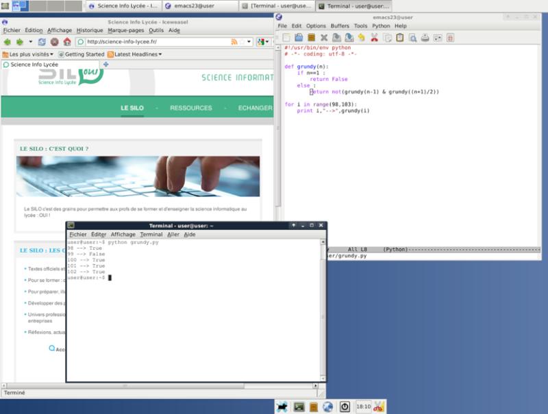 Ma petite clé usb linux (debian live) (pour la tester voir page 2) Clefis10