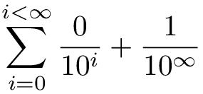 [Maths] développement illimité d'un réel - Page 2 Inf30012