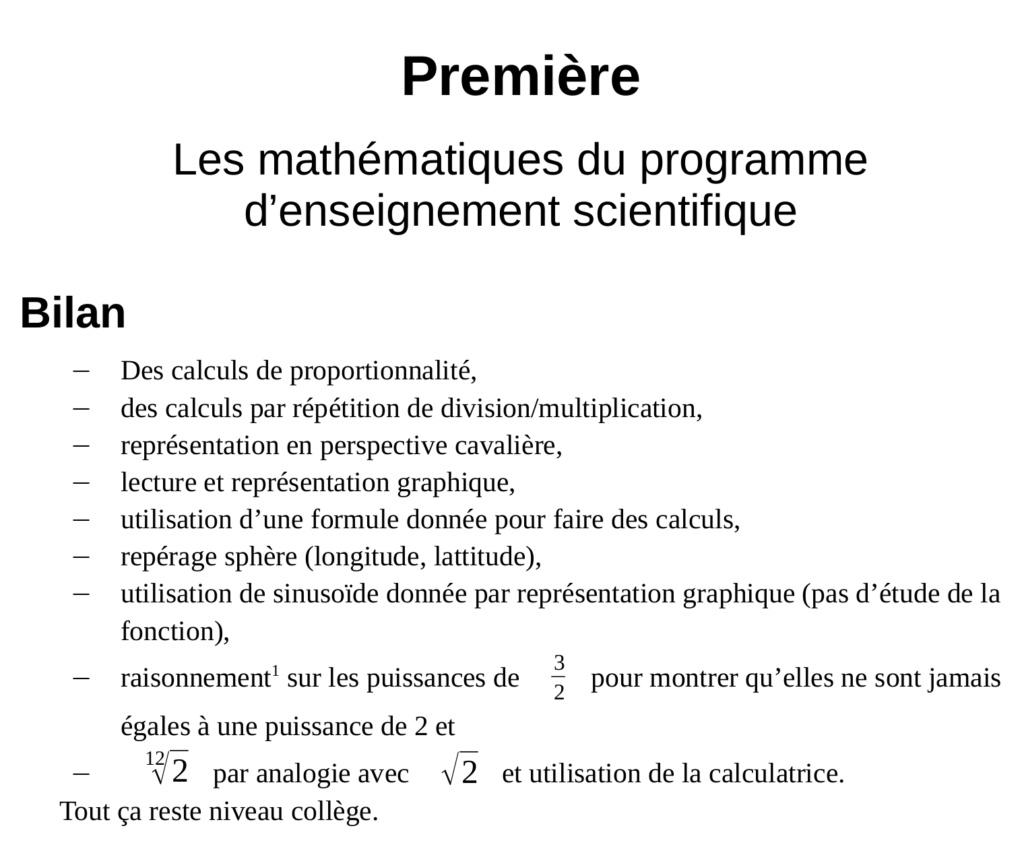 Les mathématiques au cœur du nouveau lycée ? - Page 9 Mathen10