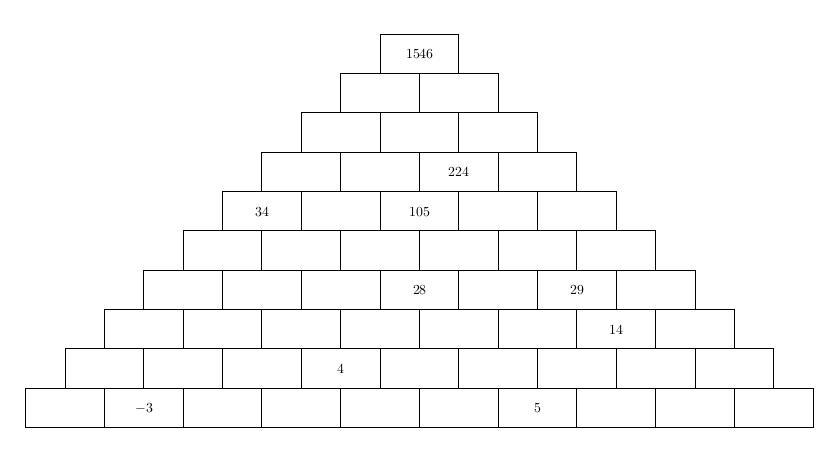 [Maths] Où trouver un générateur de pyramides additives? Pyr-0-10