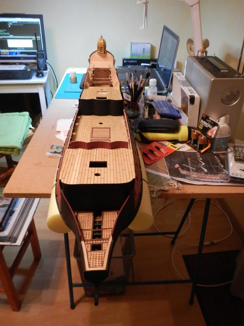 """Construction du """"Sovereign of the Seas"""" au 1/84 par Glénans - Partie I - Page 4 Dscn2043"""