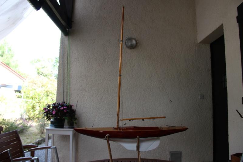 dragon) - Maquette du voilier « Dragon » de « Billing Boats » par Glénans Img_3110