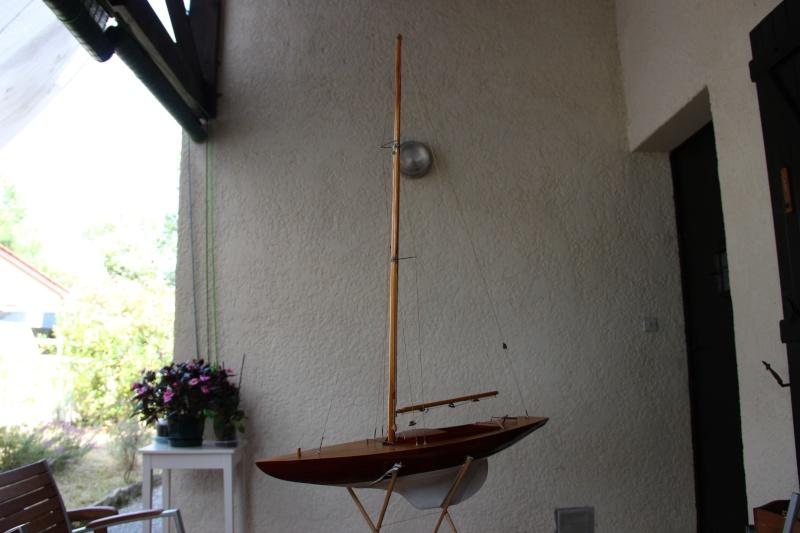 dragon) - Maquette du voilier « Dragon » de « Billing Boats » par Glénans Img_3111