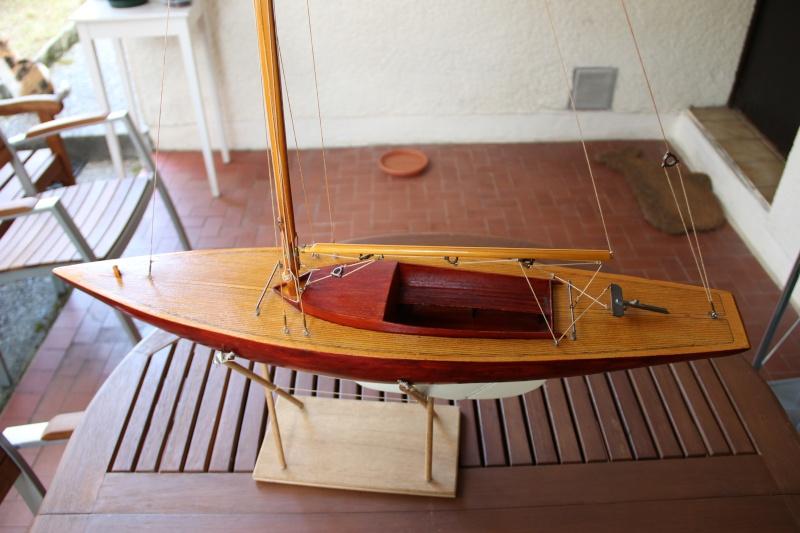 dragon) - Maquette du voilier « Dragon » de « Billing Boats » par Glénans Img_3114