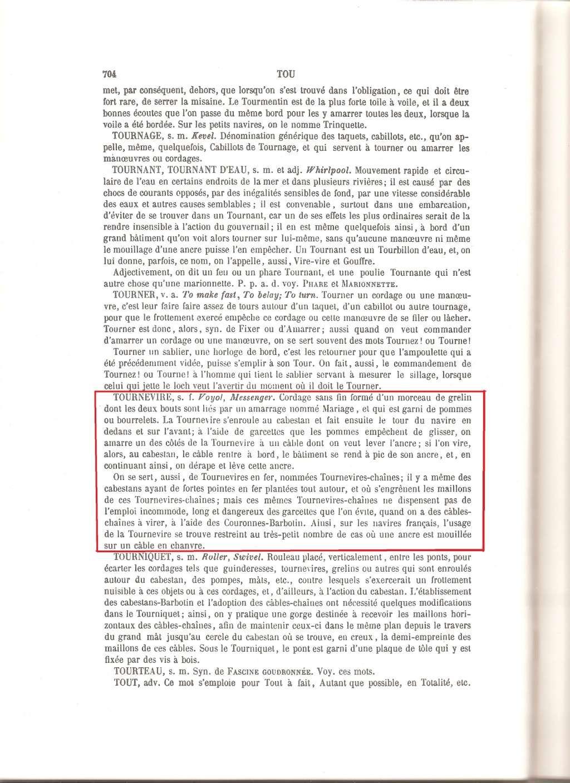 La ligne de mouillage au XVIII et début XIX Tourne11