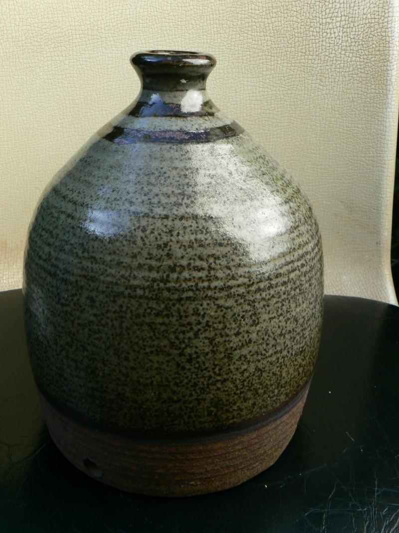 heavy stoneware studio lamp base,who is CR? P1180410