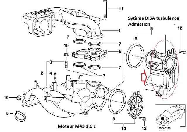 [ BMW E46 316i M43tu an 2000 ] Claquement admission gargouillis dans puit de jauge 11_m4312