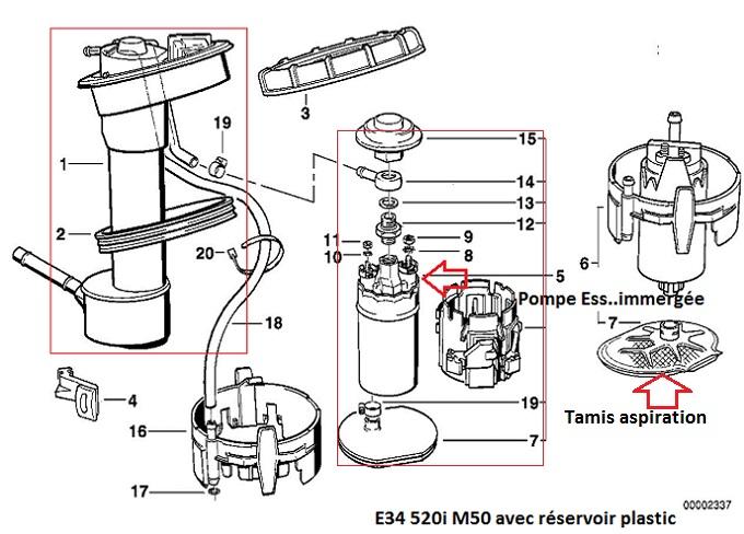 (Abandonné )[ BMW E34 520i 24v M50 an 1992 ] Problème accélération et démarrage 16_e3410