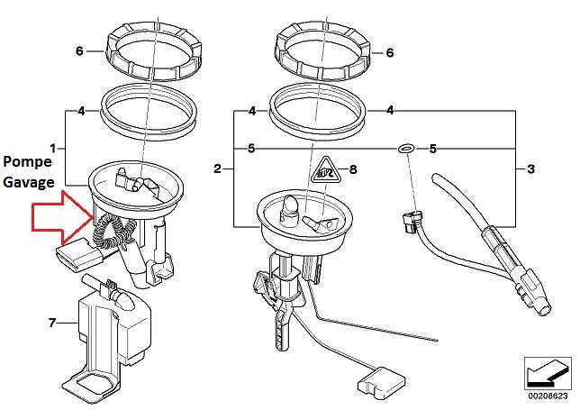 [ Bmw E46 330d M57N an 2005 ] Problème démarrage intermittent (Pression rampe trop basse). 16_e_410