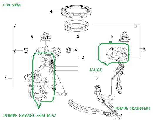 [ BMW e39 530d M57 an 1999 ] Démarre quand elle veut ... pré-pompe ou relais ? 16_pom10