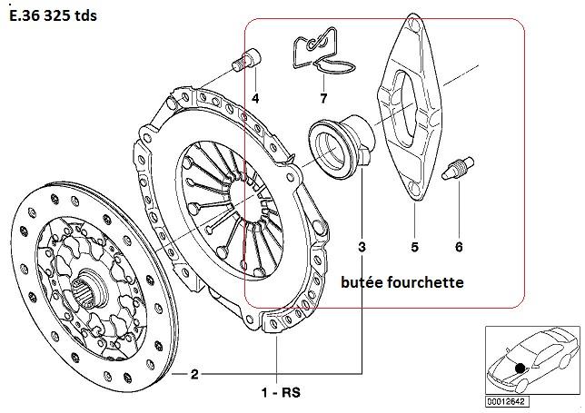 [ bmw e36 325 tds M51 an 1995 ] Problème boite de vitesse butée en plastique 21_e3610