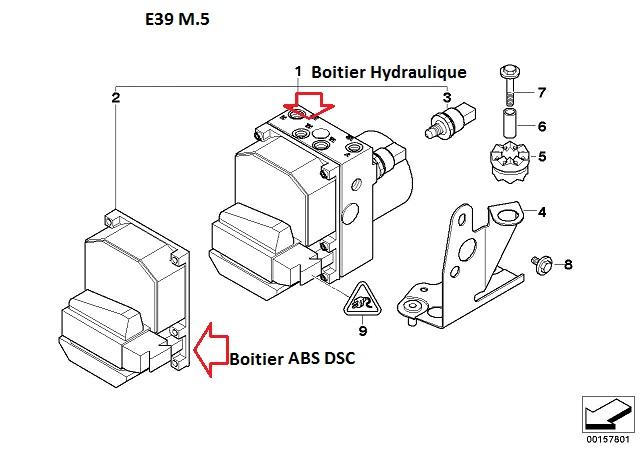[ bmw m5 e39 an 1999 ] voyant abs + dsc + frein  34_m5_10