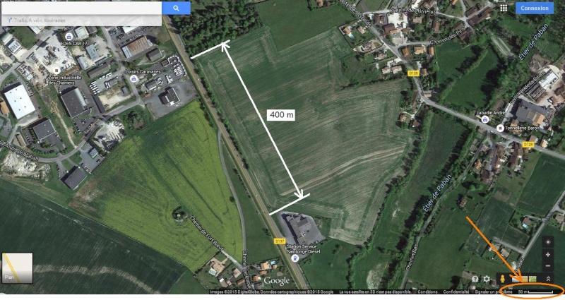 2015: le 28/06 à 00h10 - Boules lumineuses oranges -  Ovnis à Saintes - Charente-Maritime (dép.17) Plan10