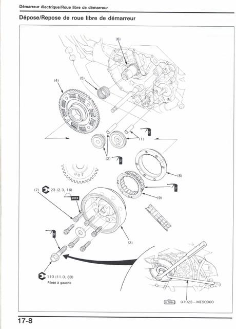Vt500 c/e : roue libre des premiers millésimes (démontage) Roue_l10