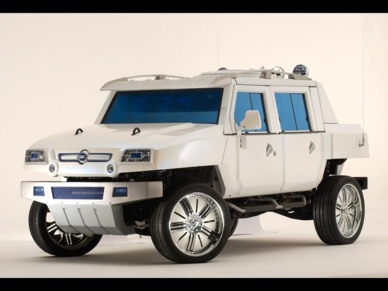 Fiat Oltre Concept (Italy's Hummer) c'est quoi cette machine??? 2005-o11