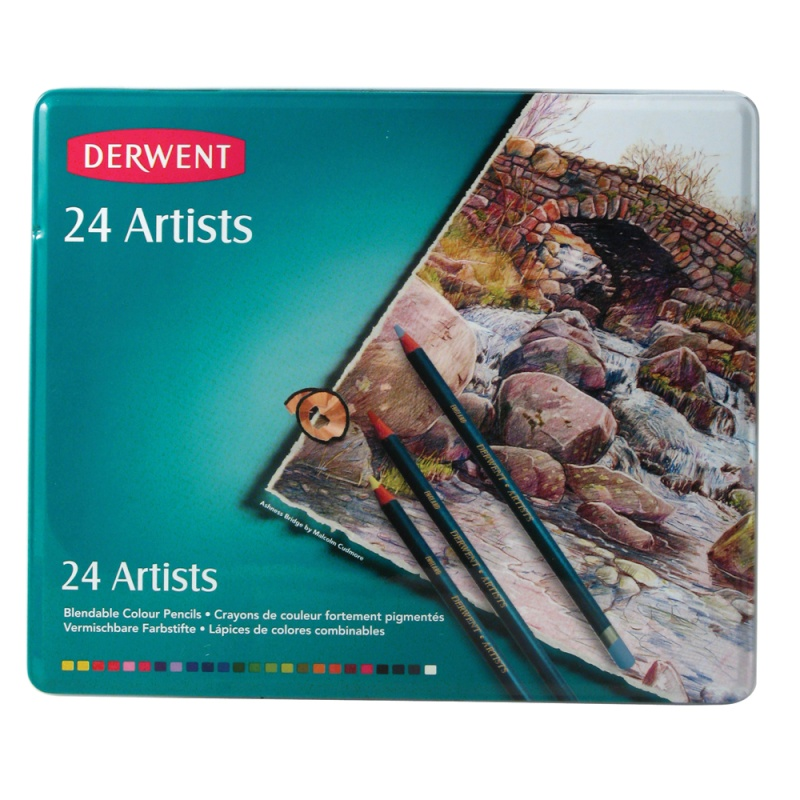 Derwent : les différences de crayons 00638910