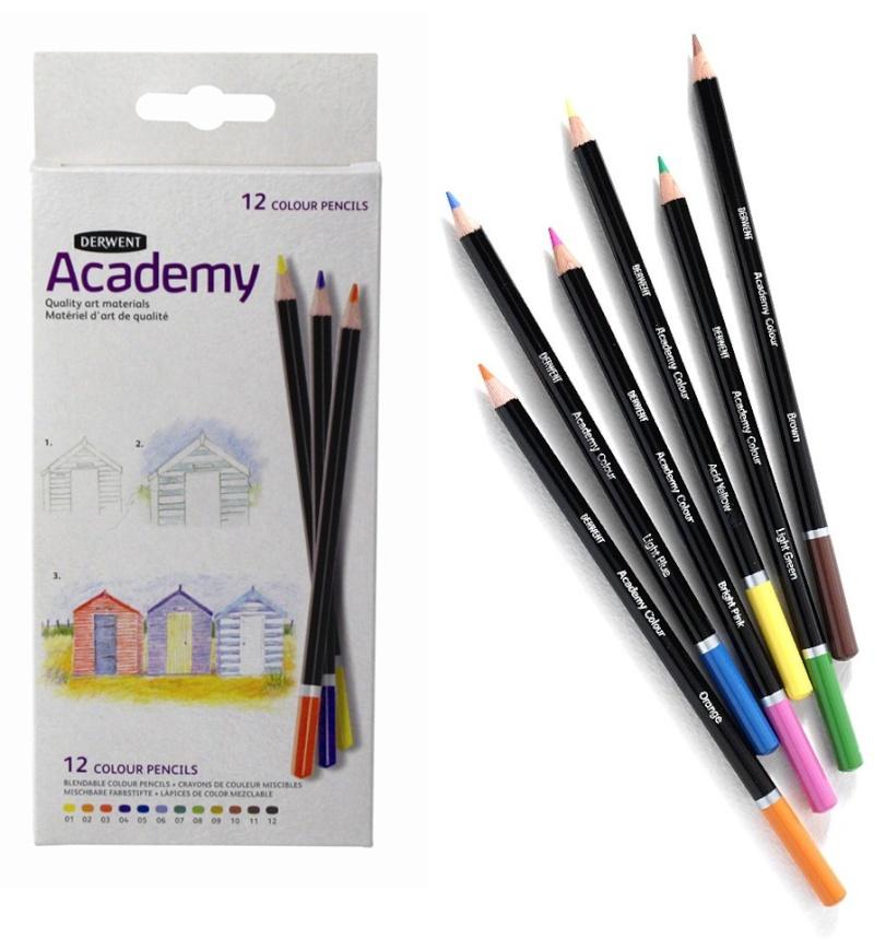 Derwent : les différences de crayons Derwen10