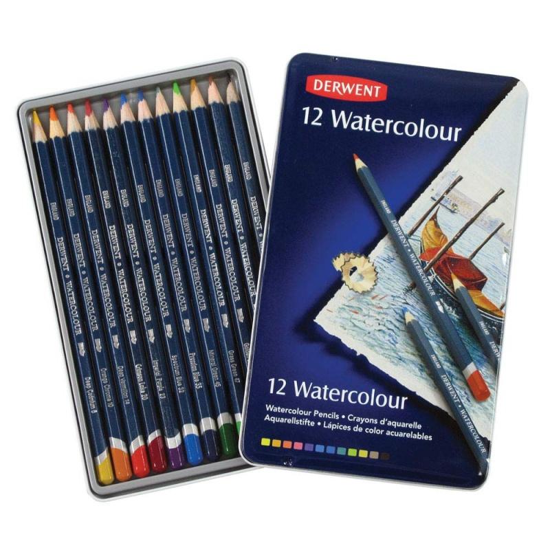 Derwent : les différences de crayons Derwen12