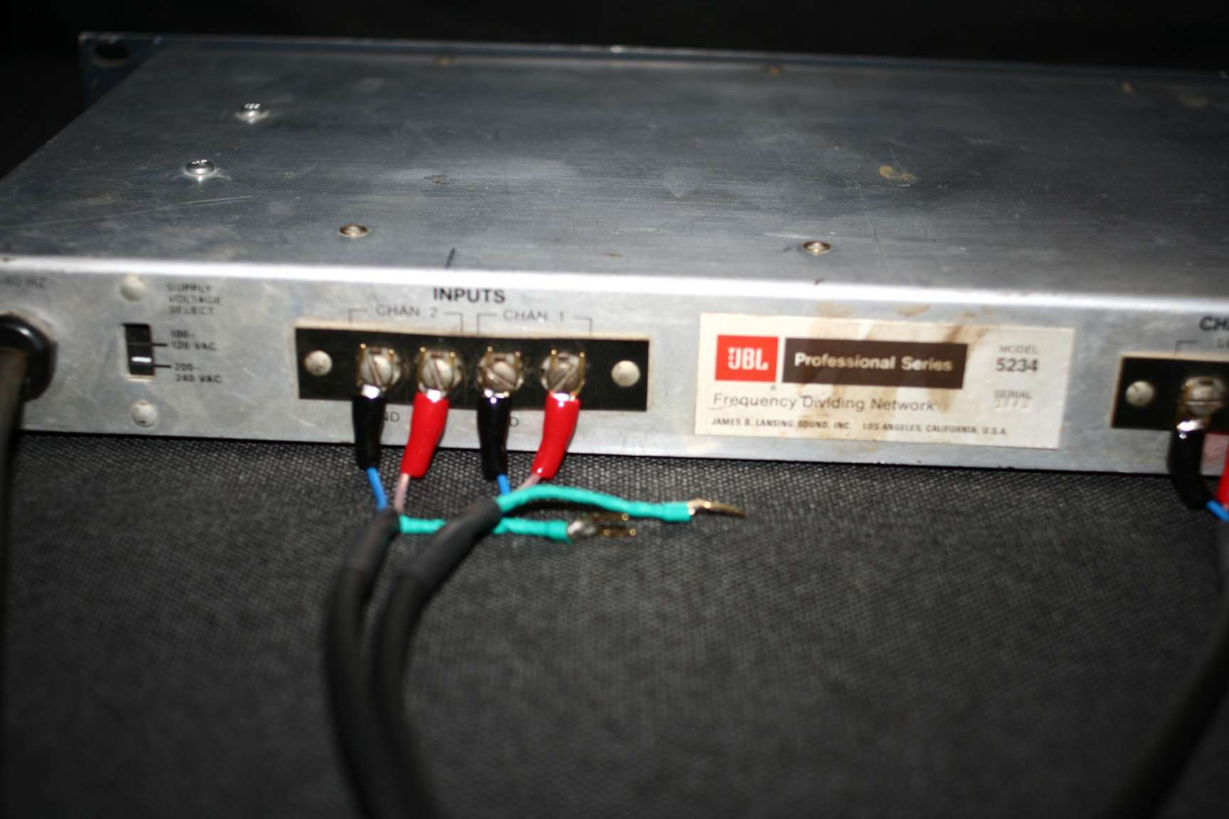 Filtre actif JBL UREI 5234 Input_10