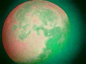 Pleine lune (ou presque, décroissante d'une 1/2 journée) 310