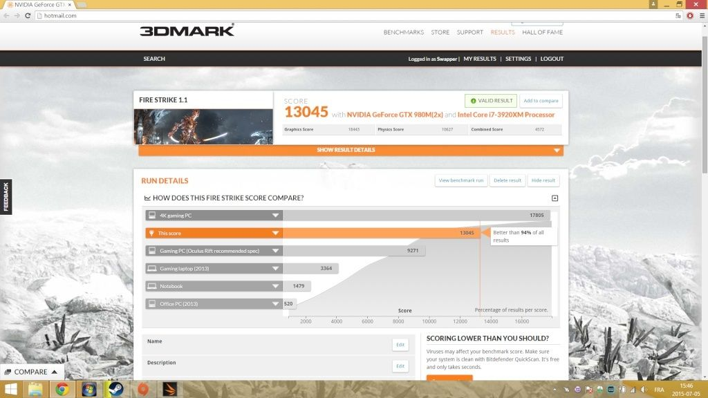 ALIENWARE M18XR2 3920XM 980M SLI 32GB RAM SSD RAID0 Firest10